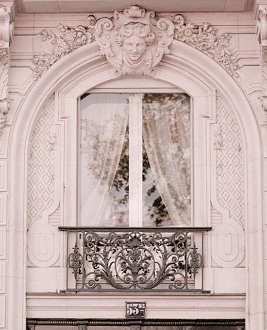 Detail ~ gorgeous Paris window