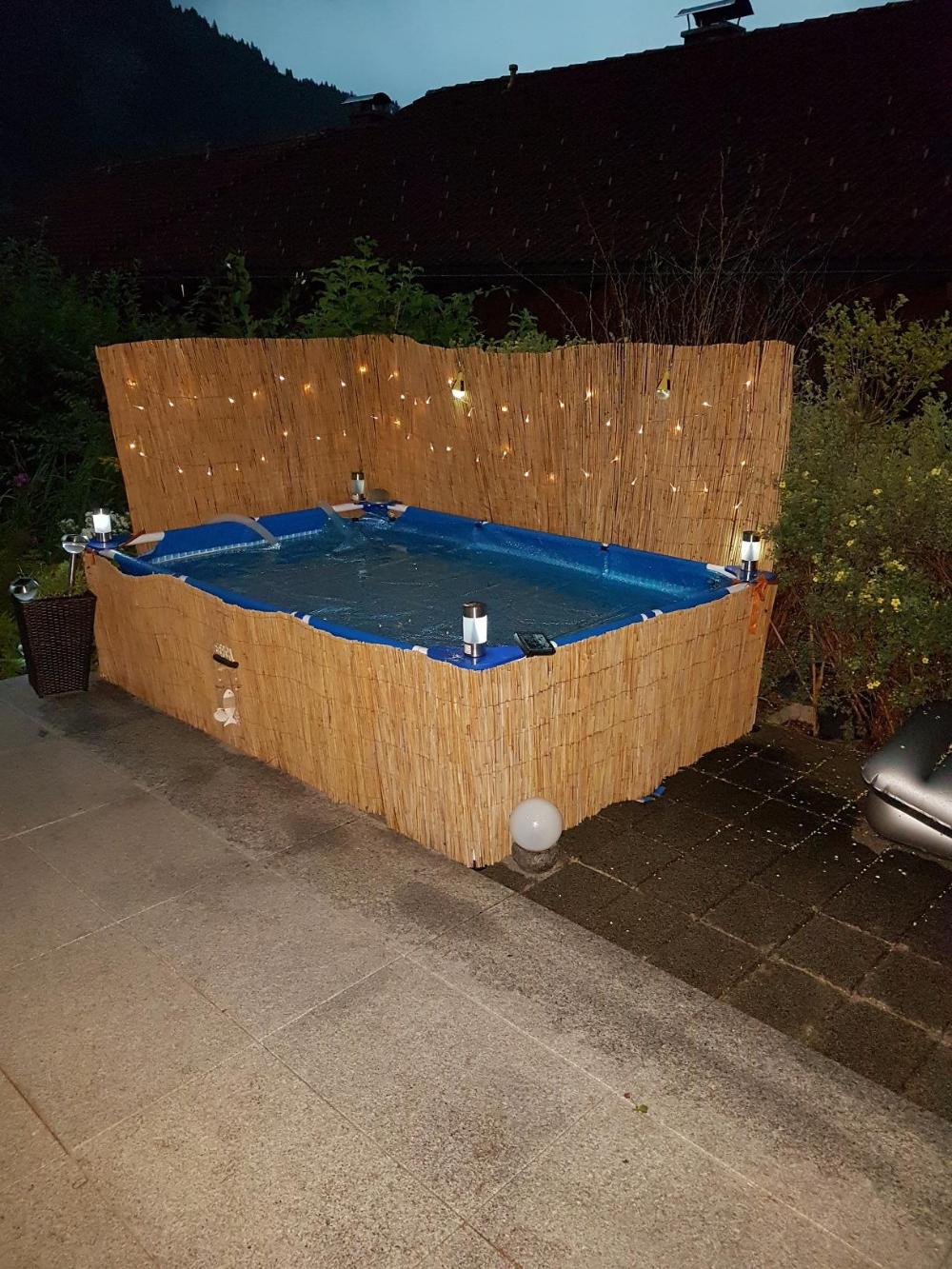 Intex Rectangular Frame Pool Aufstellpool 300 X 200 X 75 Cm Amazon De Garten Diy Pool Ideen Pool Im Garten Gartenpools