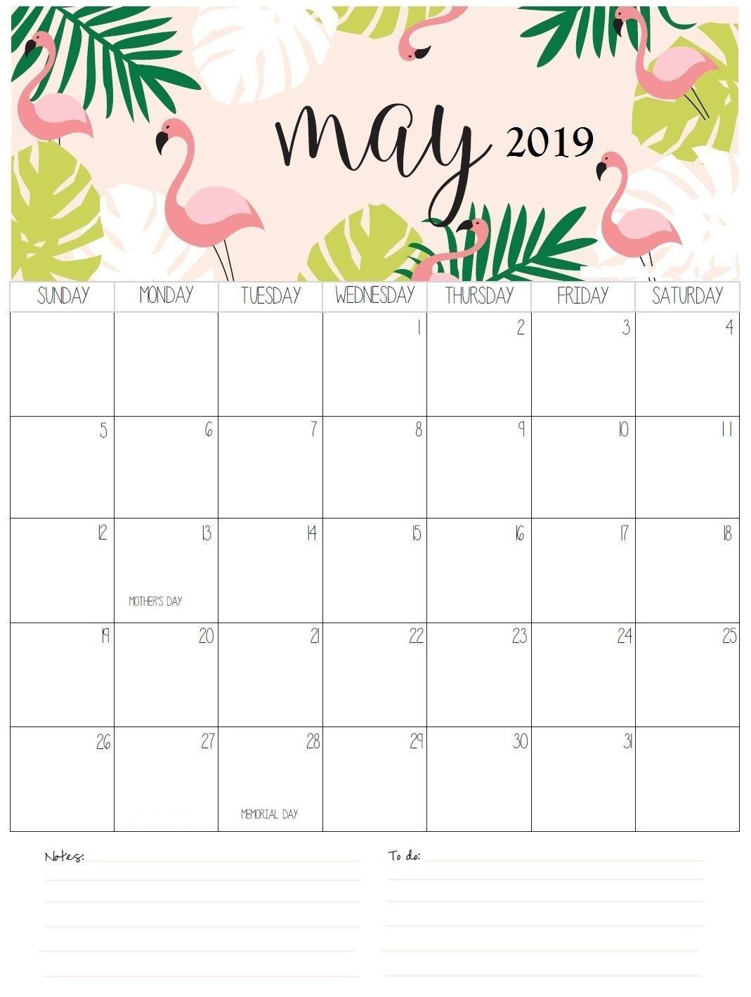 download may 2019 printable calendar template free printablemay 2019  calendar example