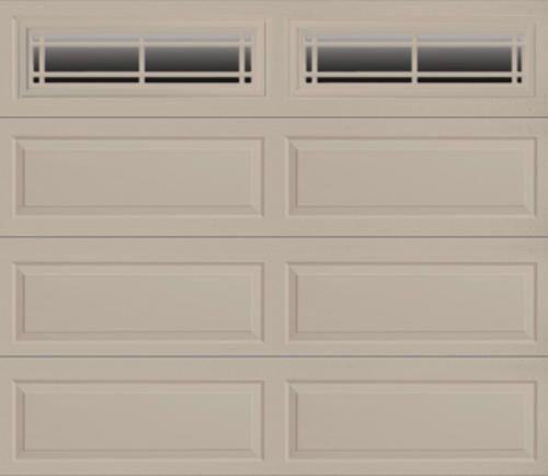 Ideal Prairie 4 Star 9 X 7 Sandstone Insulated Garage Door With Ez