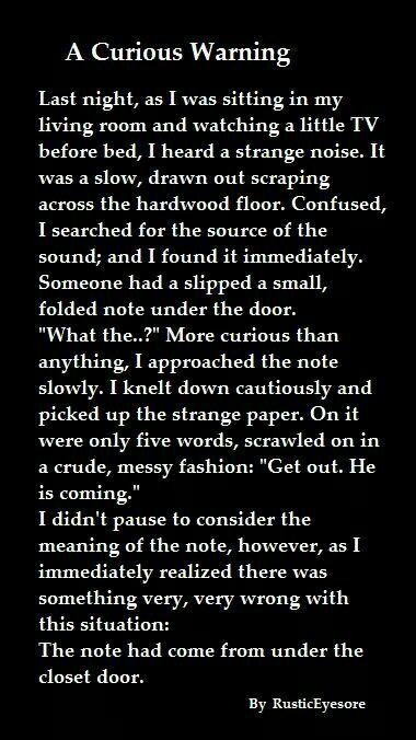 Creepypastas, scary stories, dark, closets | scary stories | Scary
