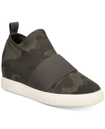 Material Girl Quila Sock Wedge Sneakers, Created For Macy's