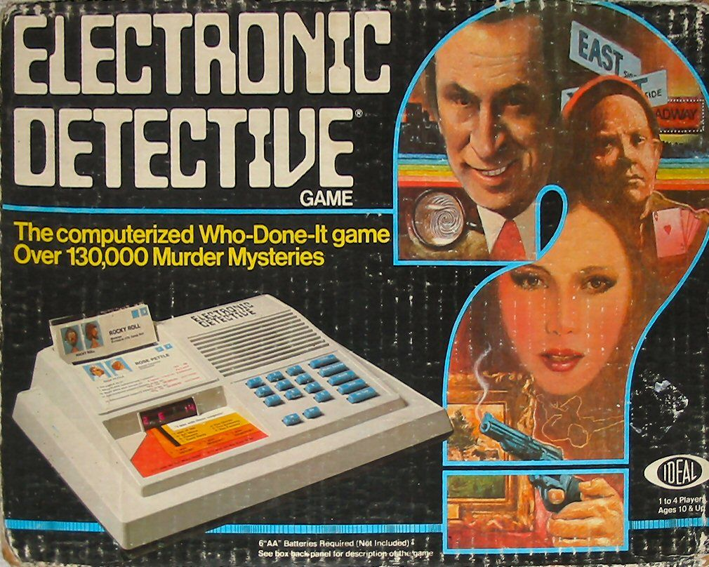 Electronic Detective Mystery games, Childhood memories