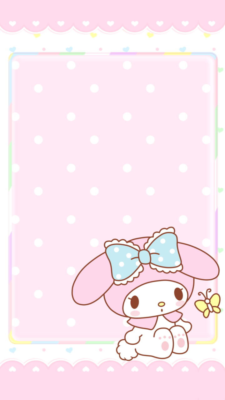 Be Positive My Melody Wallpapers This Is From A Go Launcher