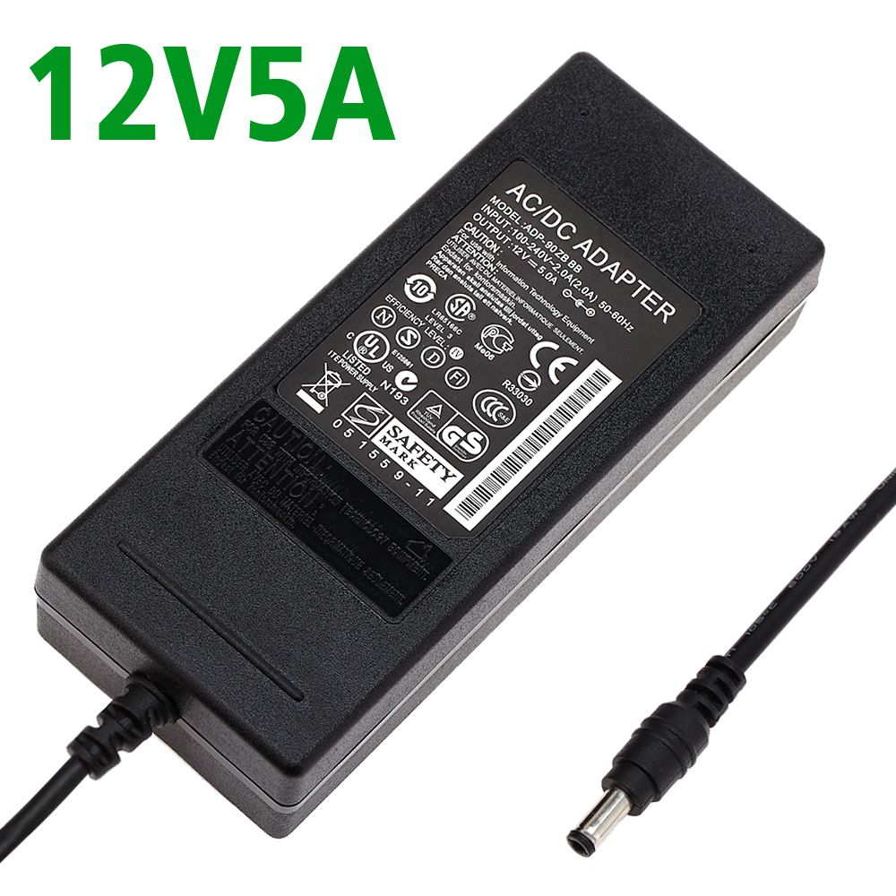 Article 12v 5a 5000ma Switching Power Supply Led Lamp Power Supply 12 V Power Supply 12v5a Power Adapter 60w Fre Led Power Supply Universal Power Adapter Power