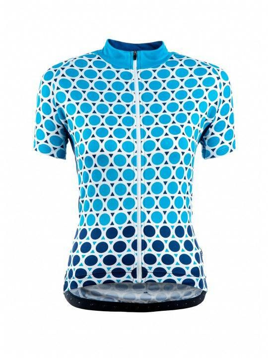 Chapeau Women Short Sleeve Jersey Madeleine Geo Polka The most stylish  ladies cycling jerseys we ve seen in a long time! Loving the … a853f1c10