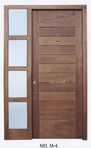 Dise os de puertas en madera para exteriores buscar con google puertas pinterest - Puertas de exterior modernas ...