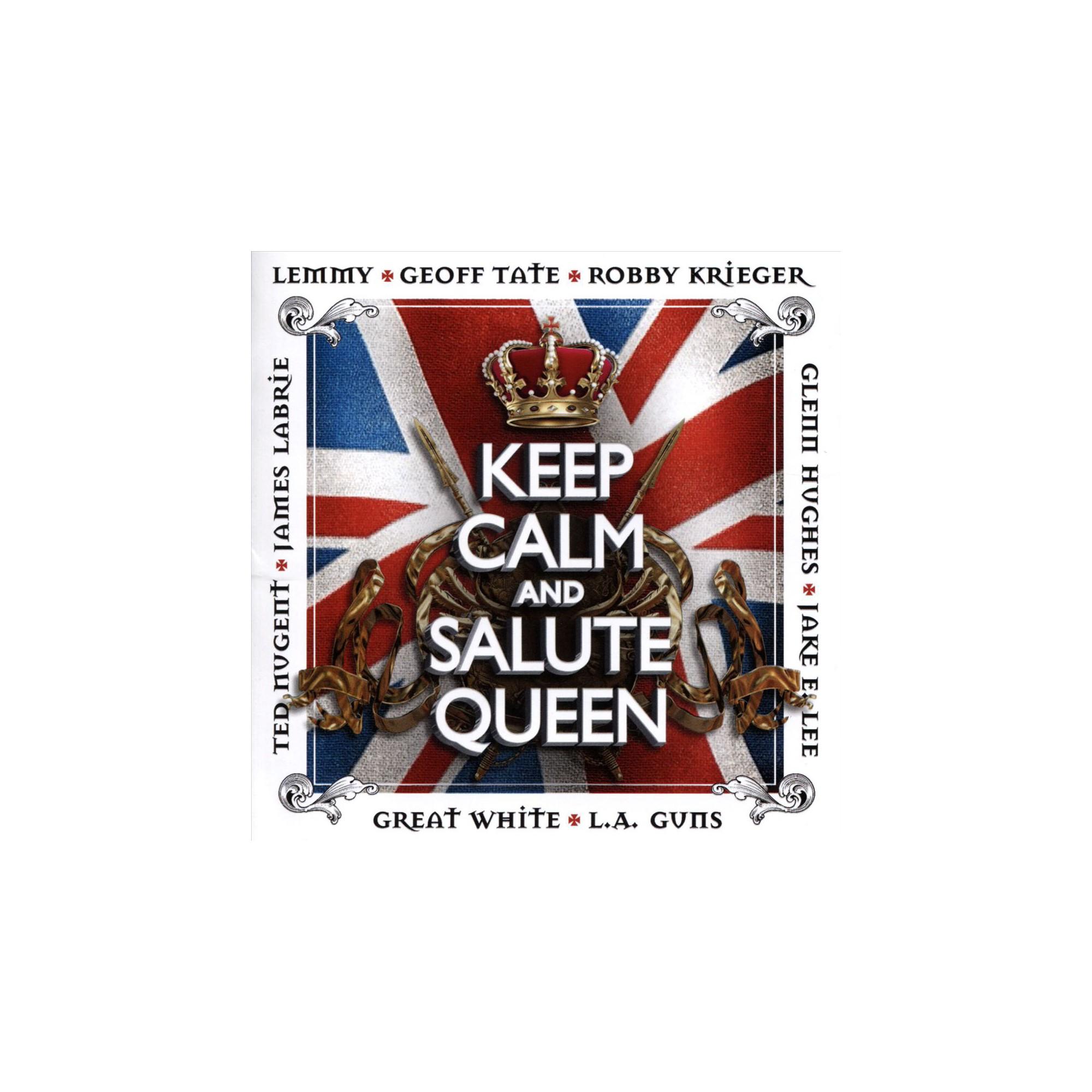 Various - Keep calm & salute queen (CD)