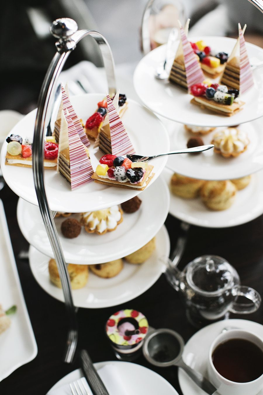 Aqua Shard - British cuisine overlooking the Thames from floor 31. For simple thrills, try the afternoon tea. £££-££££