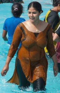 Hottest indian girl in wetsuit be. confirm