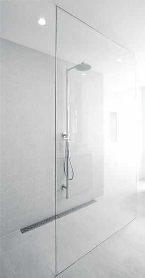 astounding calming modern minimalist bathroom white | Hofman Dujardin Architects | Reijnier Vinkeleskade ...