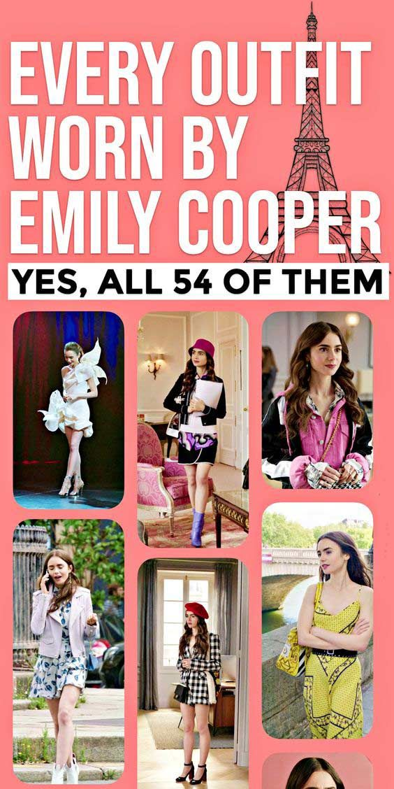 Emily Cooper Outfits collection From Emily In Pari