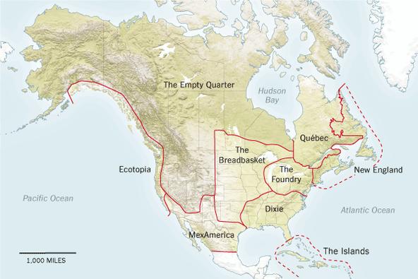 Joel Garreaus Nine Nations of North America still resonates The