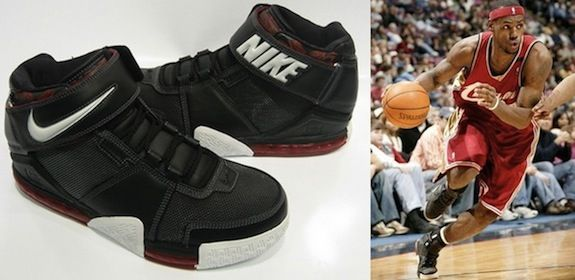 where can i buy lebrons nike air zoom basketball