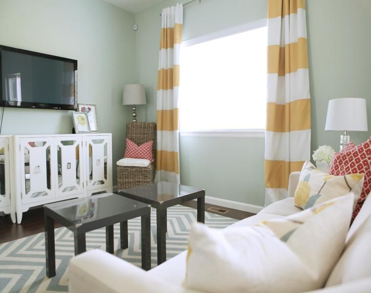 Décoration de rideaux pour salons et chambres \u2013 24 idées