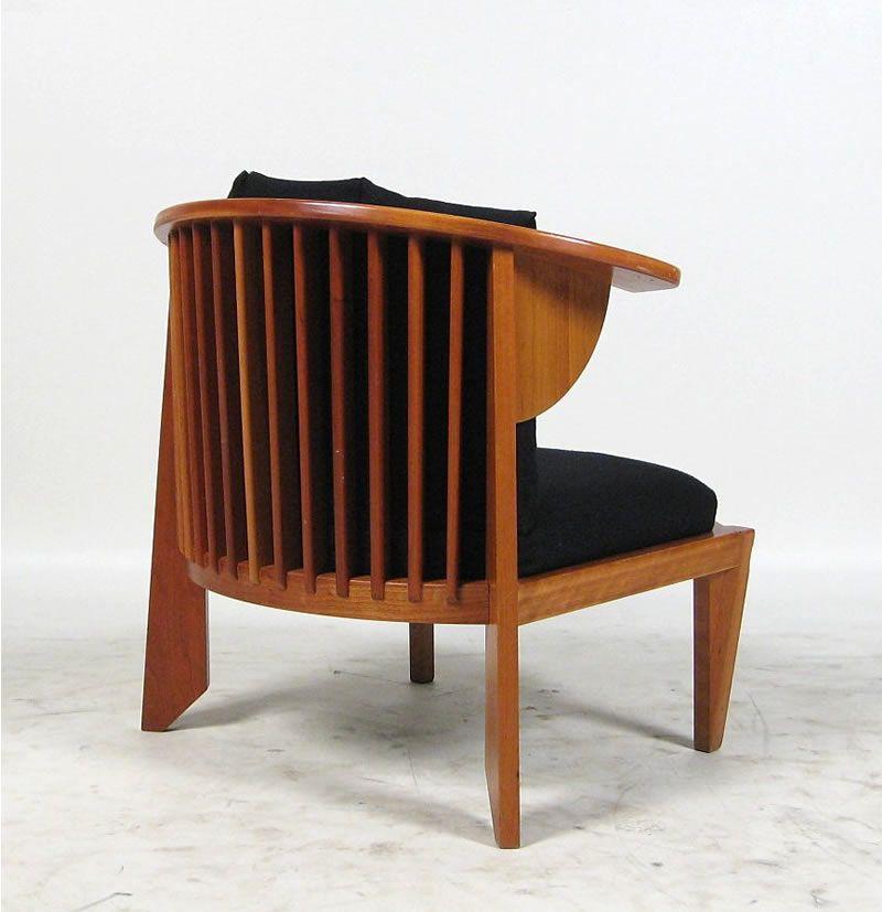 Frank lloyd wright furniture frank lloyd wright friedman cassina lounge chair sessel 1986 - Celebrity furniture designers ...