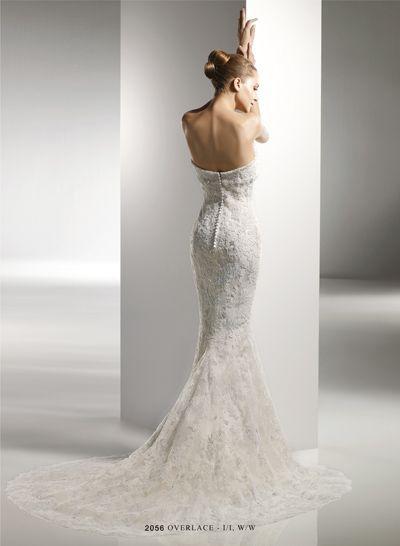Benjamin Roberts Wedding Dress Back View