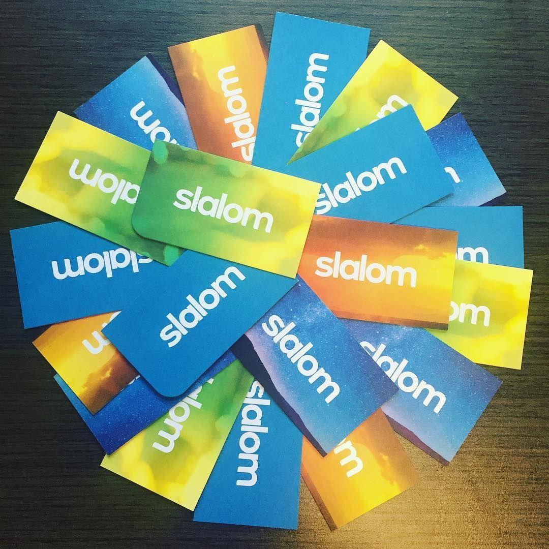 Slalom Business Cards #slalomgear | Slalom Gear | Pinterest