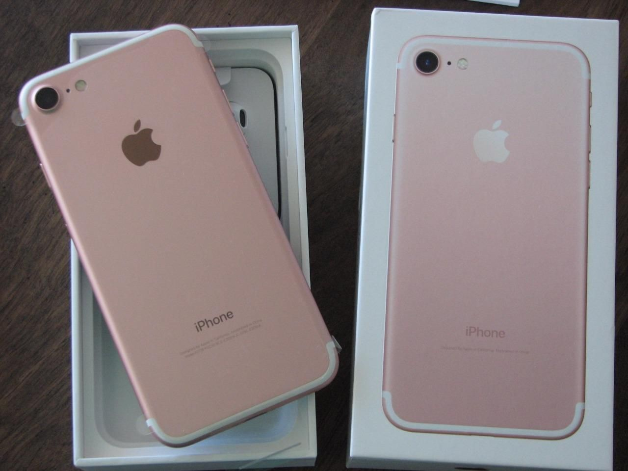LATEST BRAND NEW APPLE iPHONE 7 128GB ROSE GOLD UNLOCKED