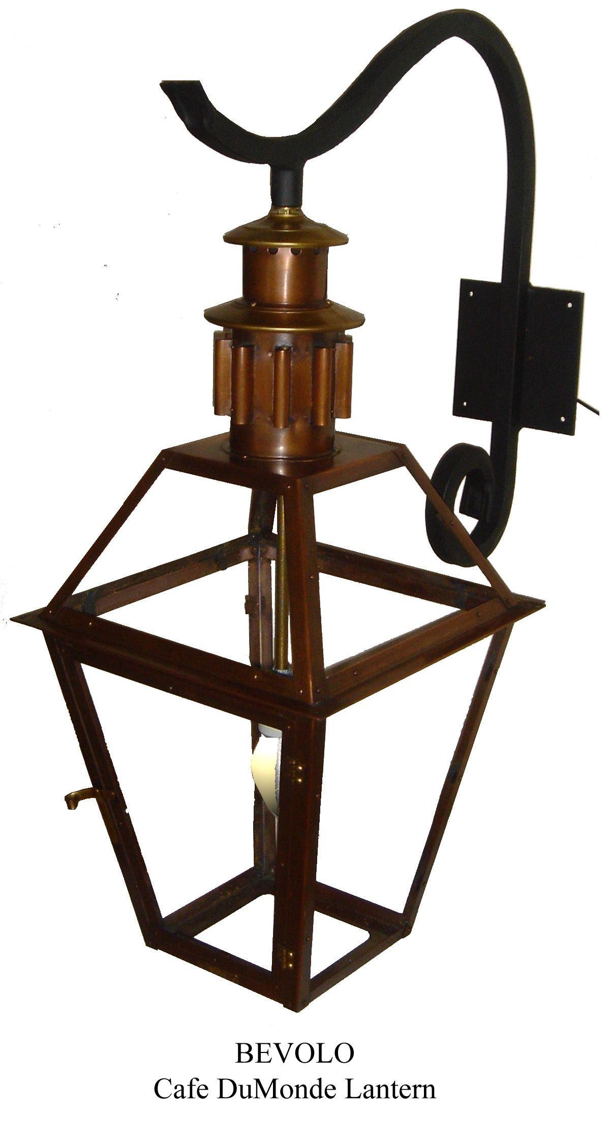 This light was originally a custom design for the Cafe du Monde ...