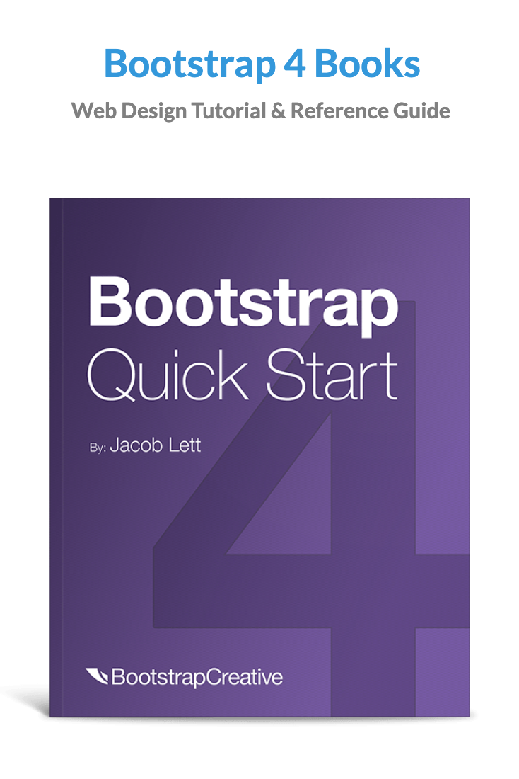 Best Bootstrap 4 Books 2019 Web Design Basics Web Design Learn Web Development