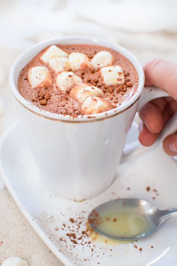 This Creamy And Comforting Hot Chocolate With Condensed Milk Will Keep You Warm And Cozy During The Cold Season Condensed Milk Recipes Hot Cocoa Recipe Recipes
