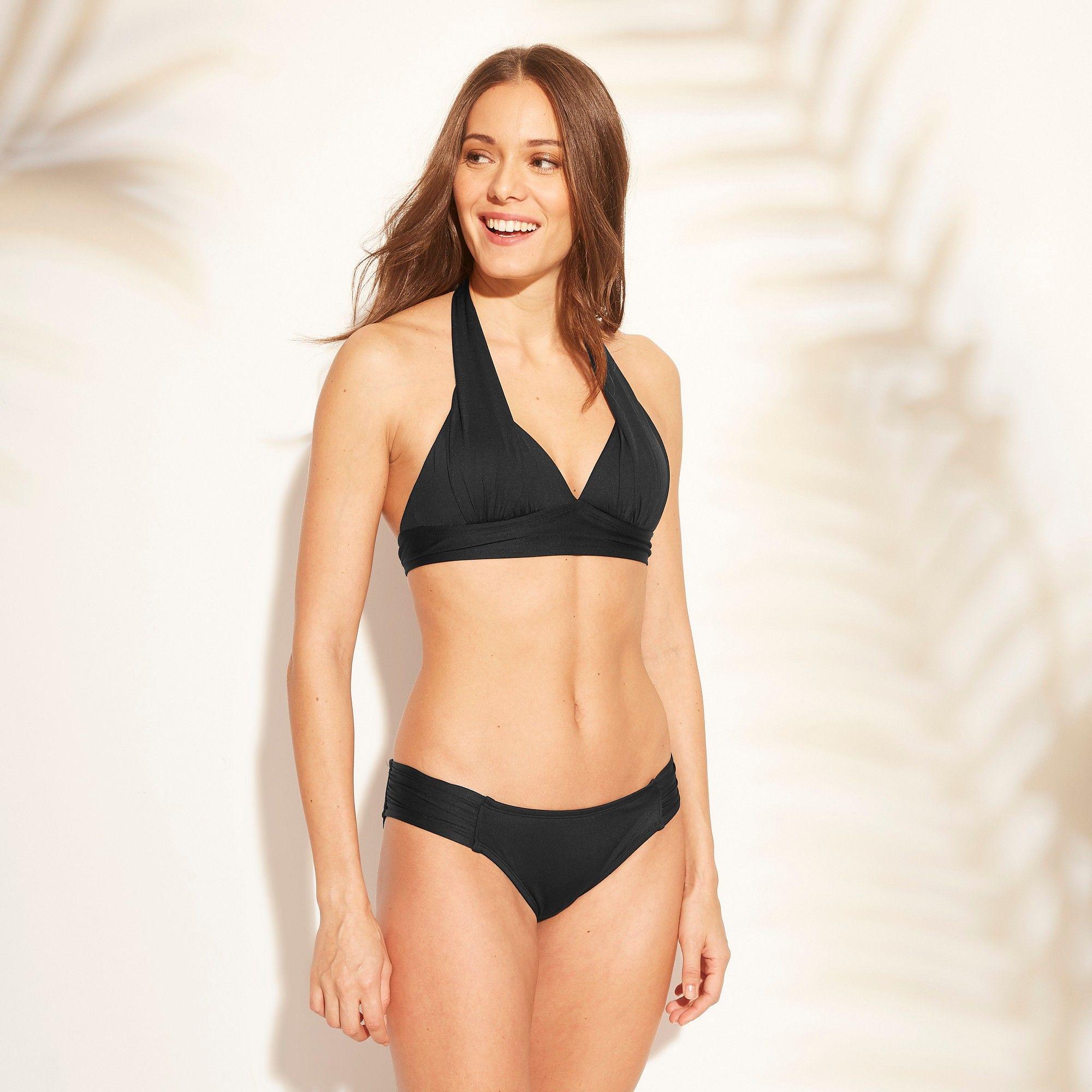 beb613d4d0 Women s Halter Bikini Top - Kona Sol Black M