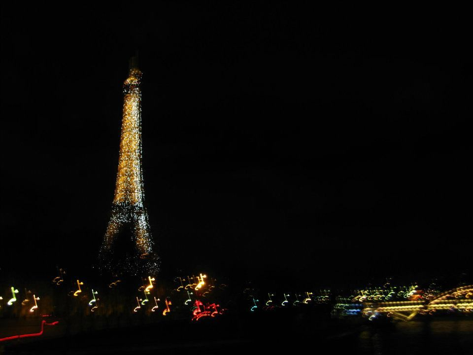 I took this when I was in Paris on New Years Eve - so beautiful