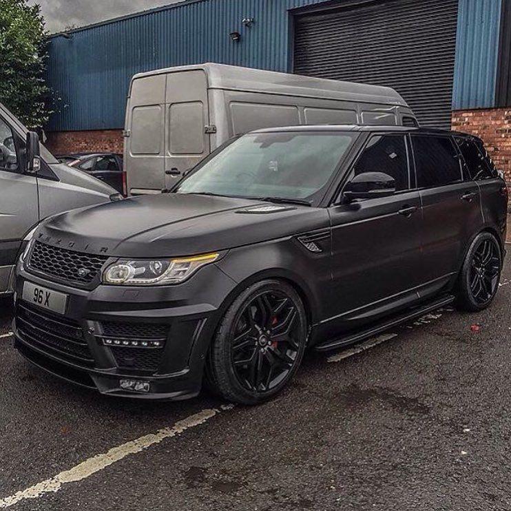 Black Matte Range Rover