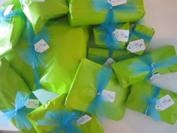 Mini Birthday Presents 1 For Each Hour Of The Day If Turning 27 Open At 127 227 Etc