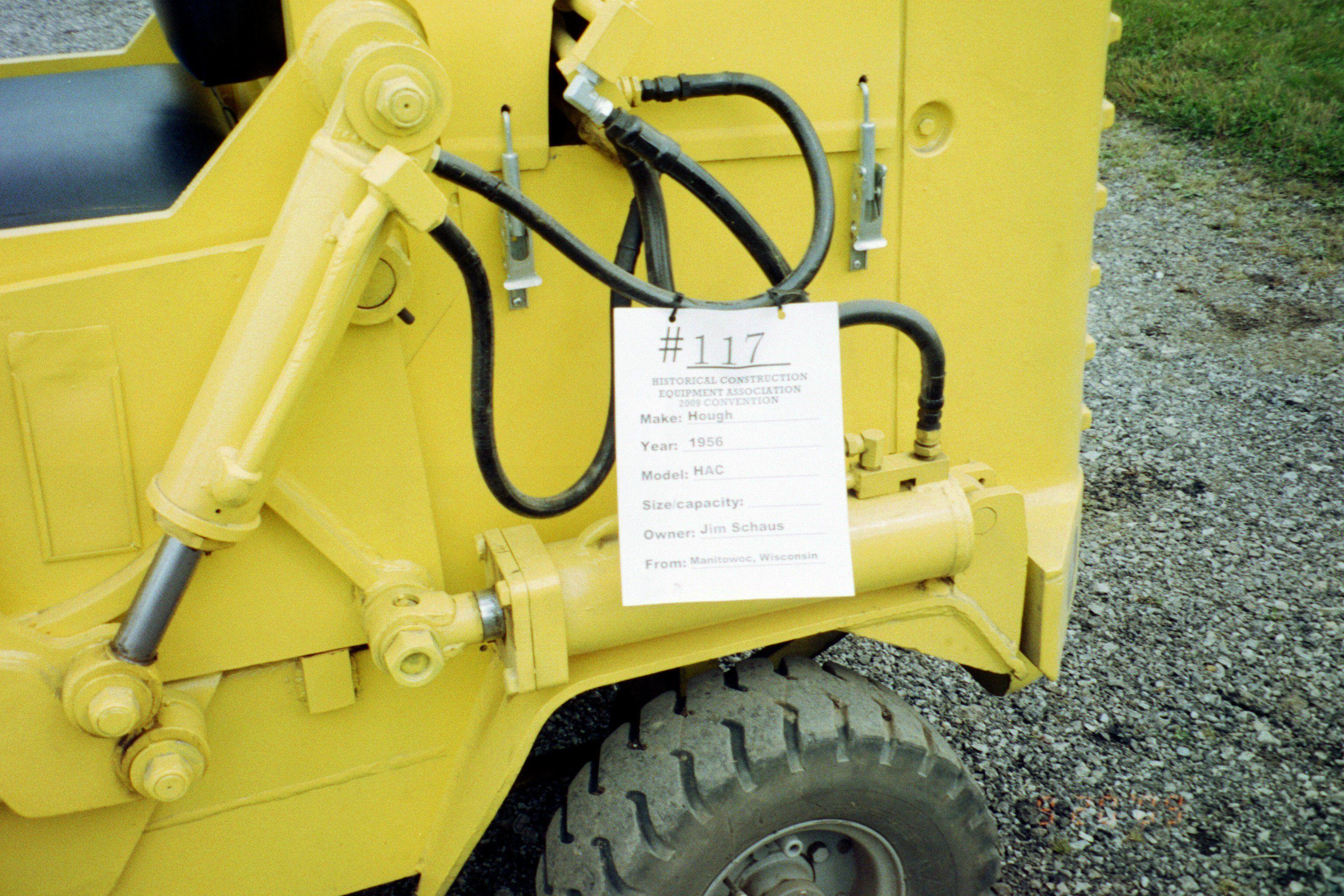 Hough wheel loader sign