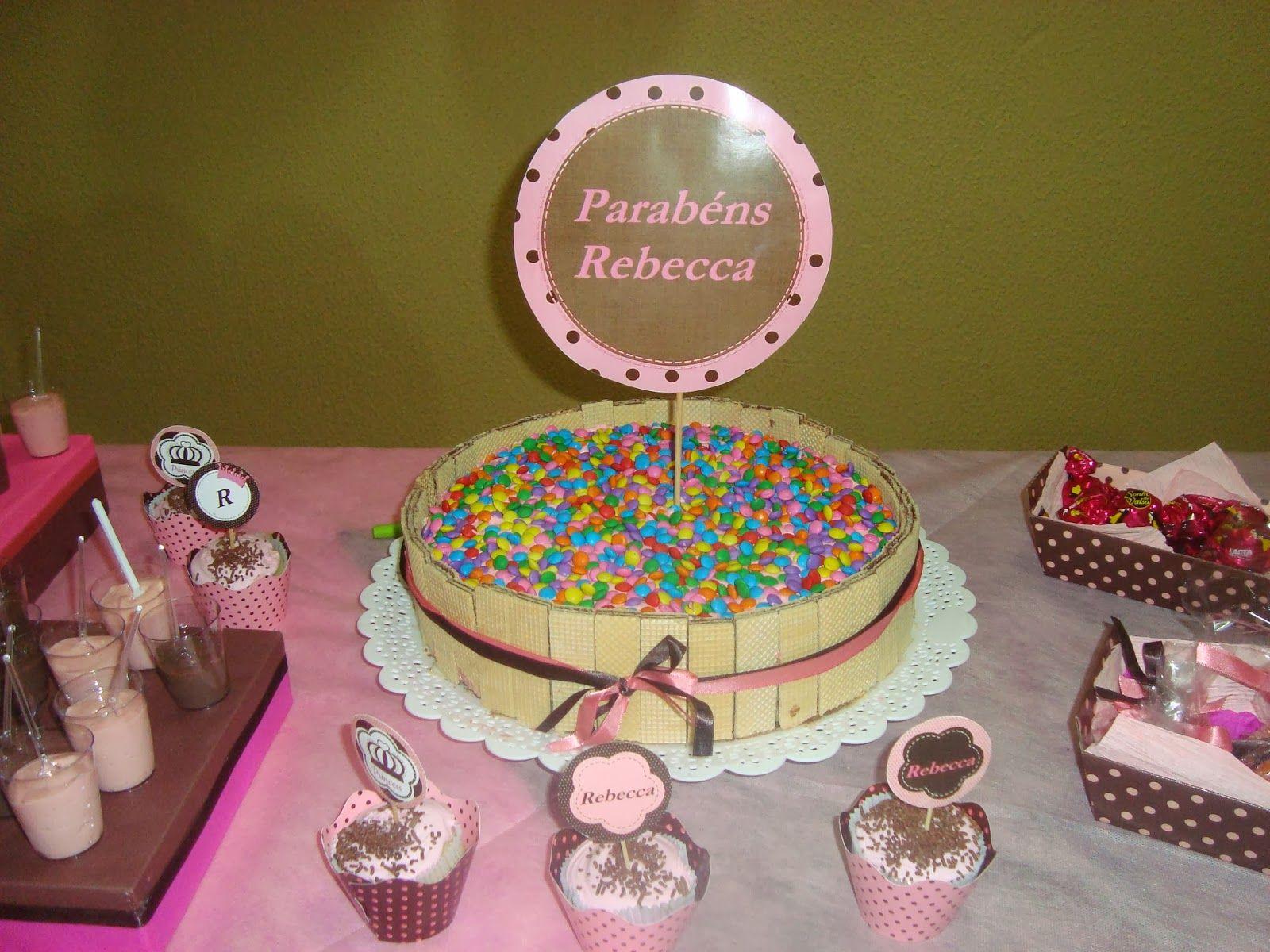 Boutique Chic: Niver de princesa!!!!Marrom e rosa