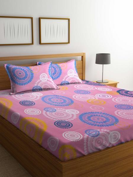 Premium Quality Cotton Double Bed Sheets Online #cotton #bedsheets  #doublebedsheets #homedecor #