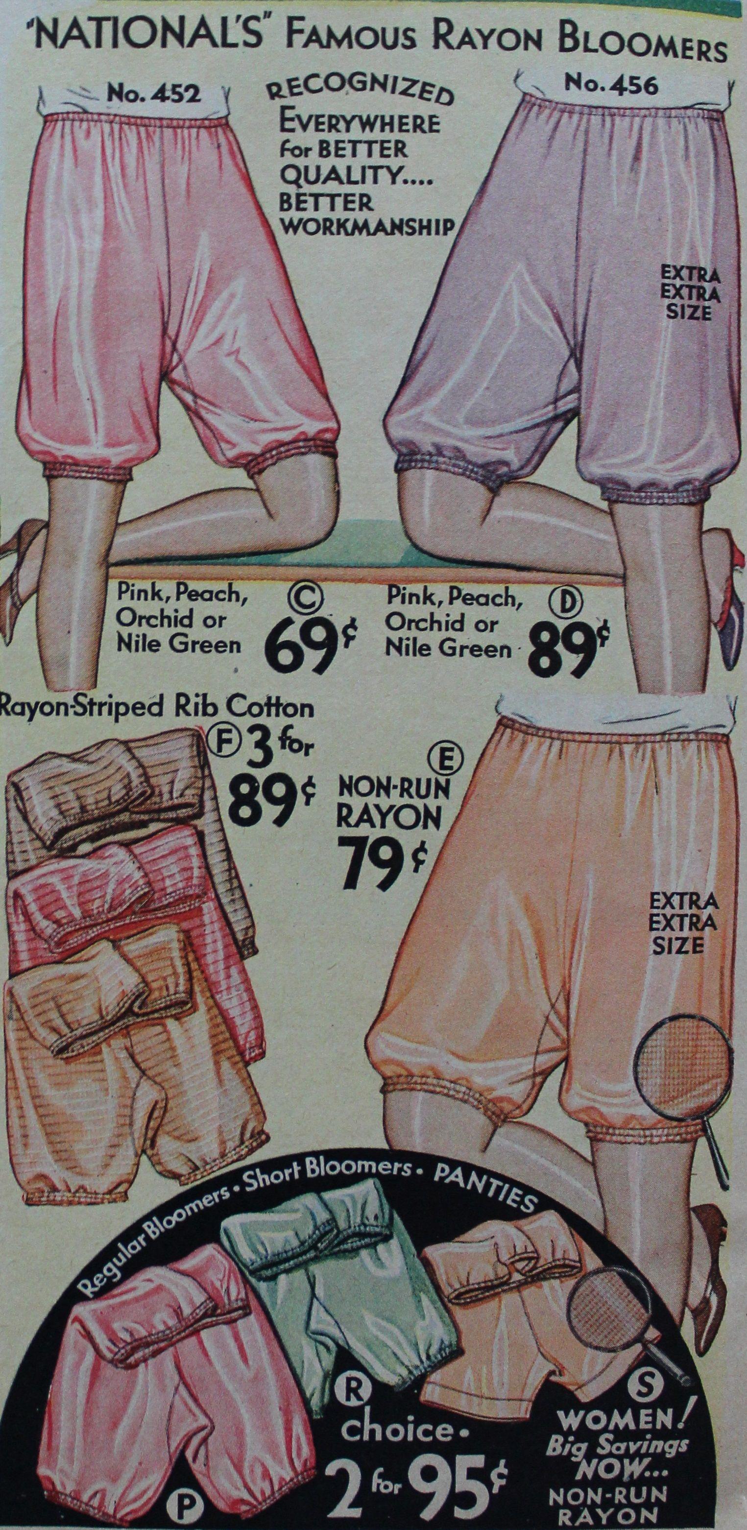 1b05de5d420 1930s Bloomers Underwear