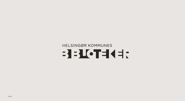 Helsingør Kommunes Biblioteker - Corporate Identity by Ineo Designlab® , via Behance