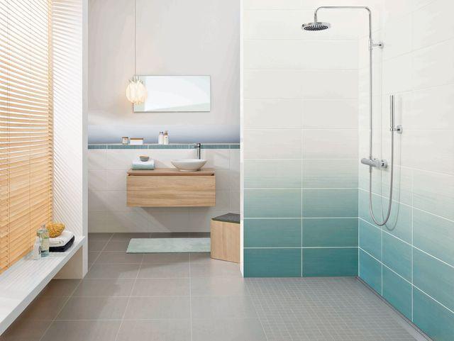 Mosaïque salle de bain  laquelle choisir Pinterest