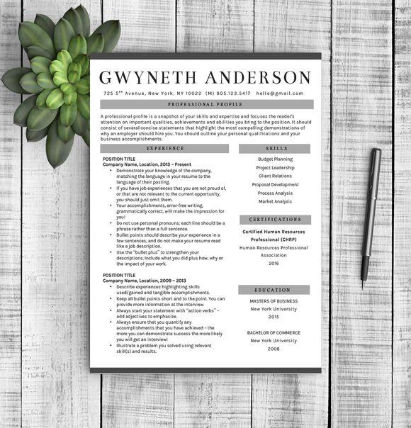 Professional Resume Template @creativework247 Resume Help - professional resume help