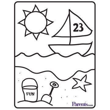Create Your Own Coloring Book 9 Fun Pages