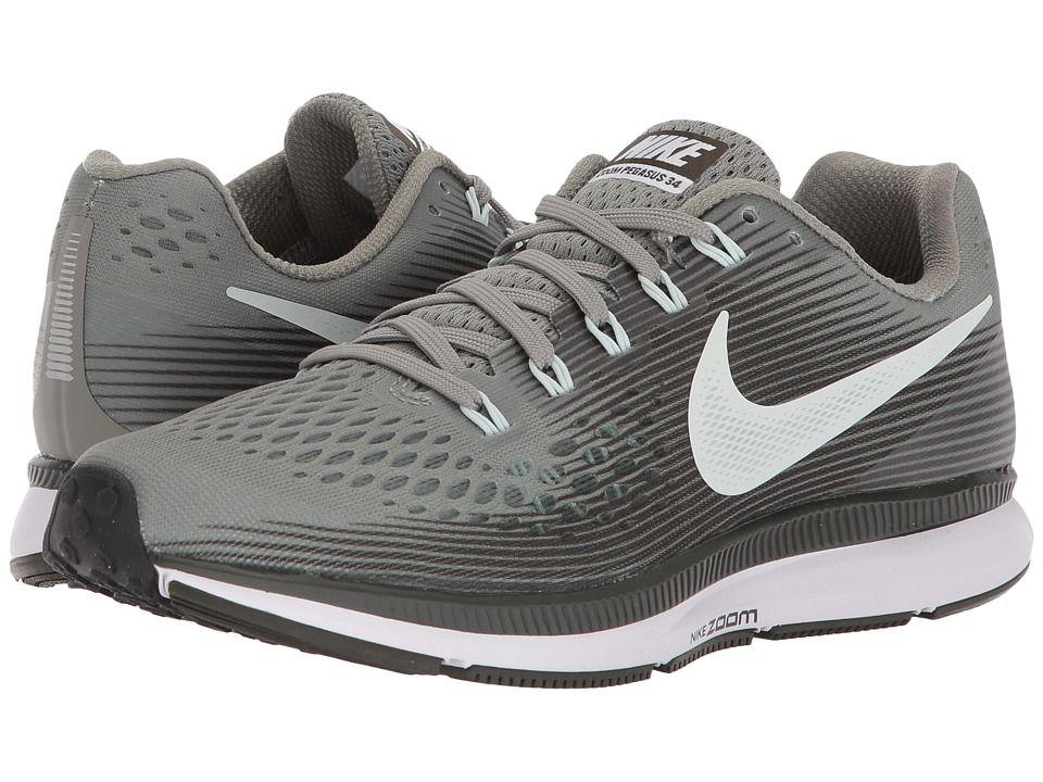 c64a32b0bc56 Nike Air Zoom Pegasus 34 (Dark Stucco Barely Grey Sequoia Black) Women s  Running Shoes  hot