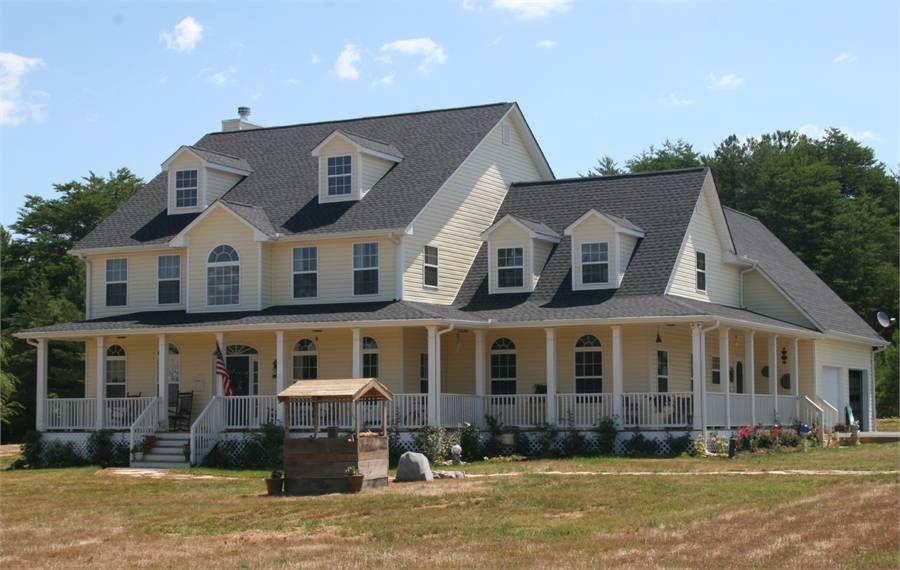 The Hanover W Garage A Custom Home Plans House Plans My Dream Home
