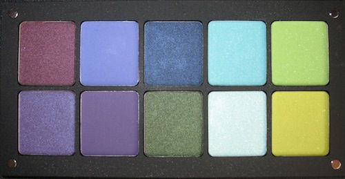 Inglot Freedom System 20 Eye Shadow Palette #1 Swatches
