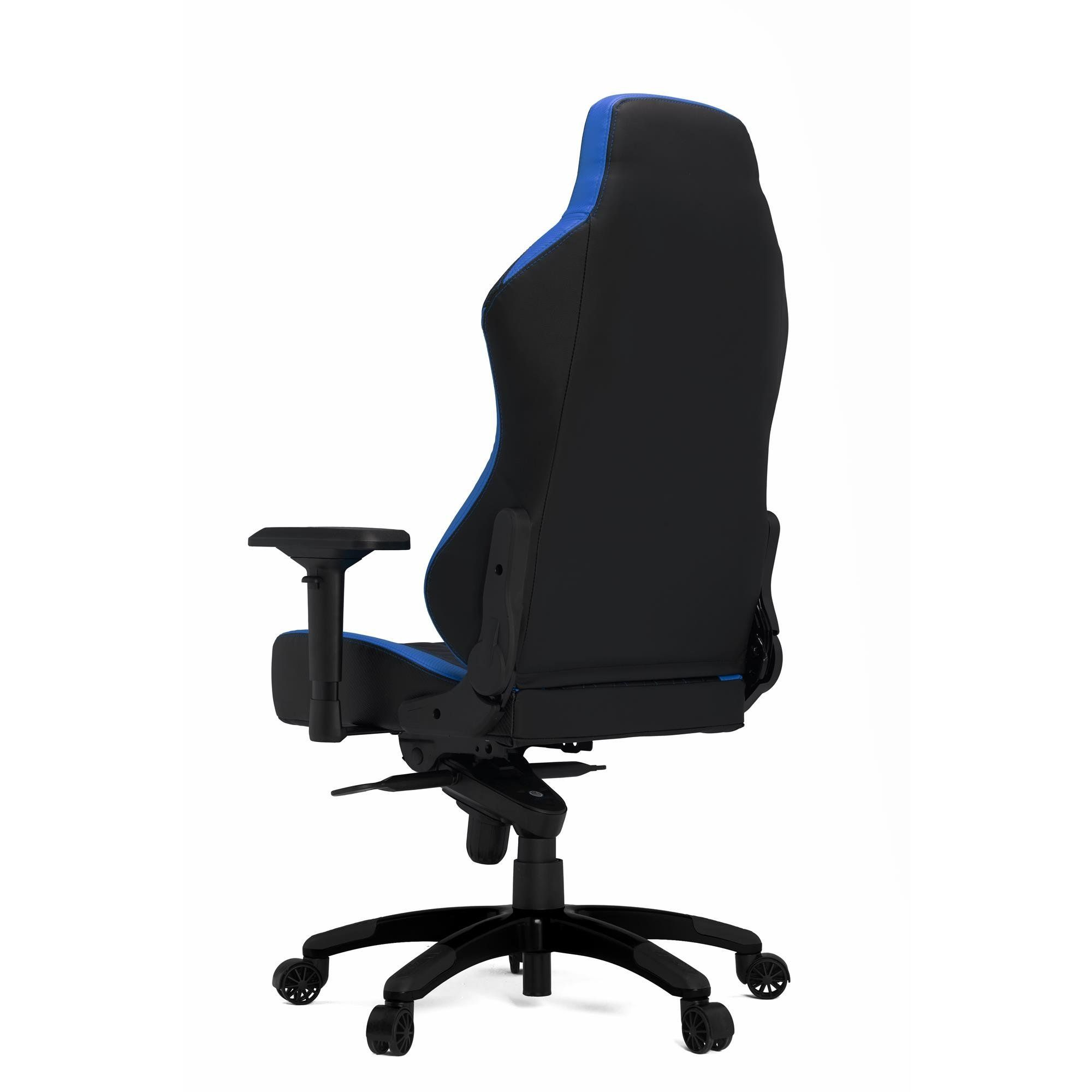 Hhgears xl series pc gaming racing chair black and blue with
