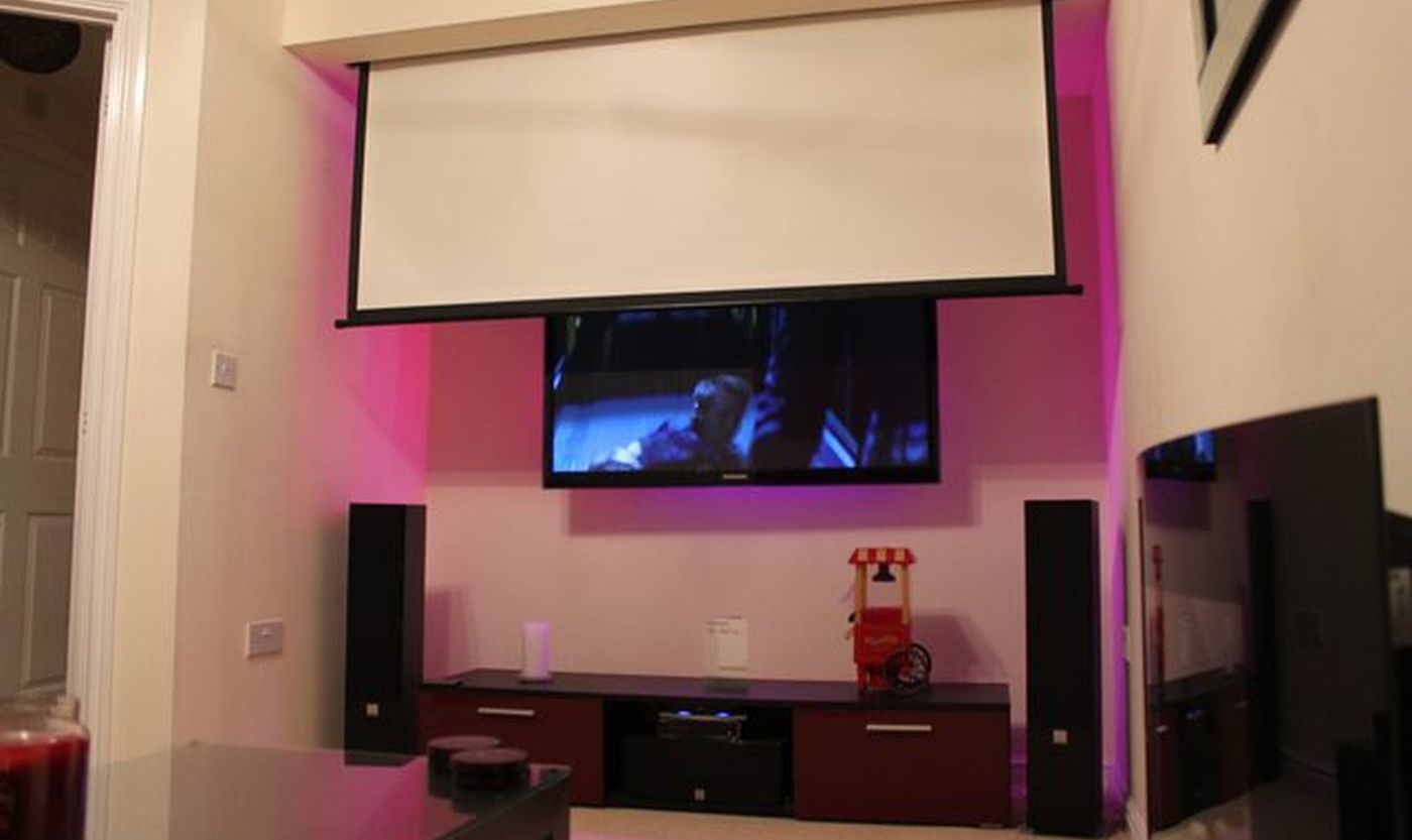 Image Result For Drop Down Projector Screen Cinema Room Home Theater Projectors Theatre