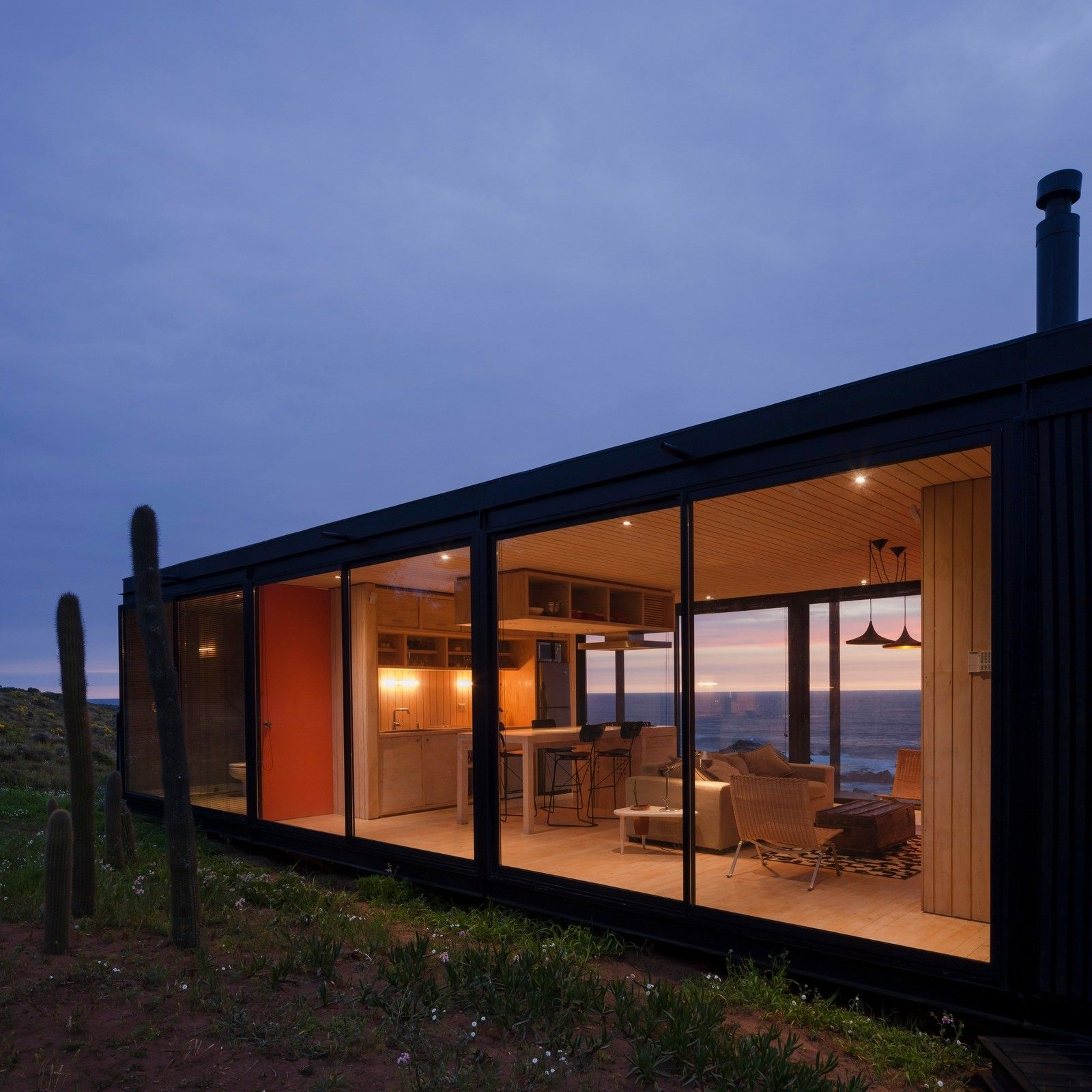 Transportable Modular Create Remote House in Chile