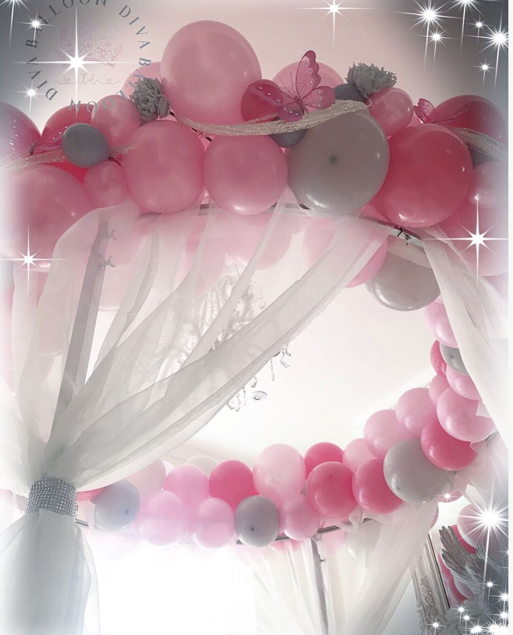 Cake Table Decoration Diy Wedding Lighting Balloons Cake Table Decorations