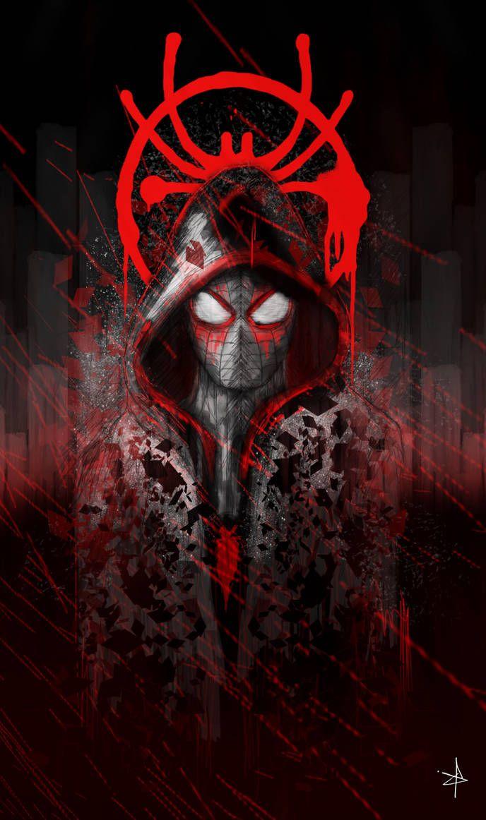 Spiderman / Miles Morales by ChrisNazgul on DeviantArt
