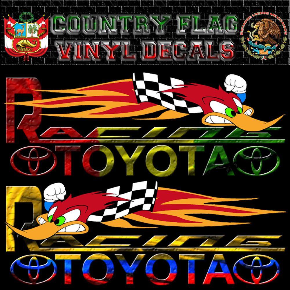 El Salvador Salvadoran Flag Racing Car Decal Kanji Sticker 6001 Set Of 2 Racing El Salvador Flag El Salvador [ 960 x 1152 Pixel ]