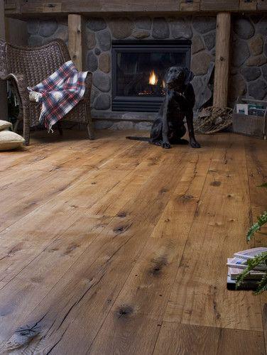 Antique Oak Random Width Traditional Wood Flooring
