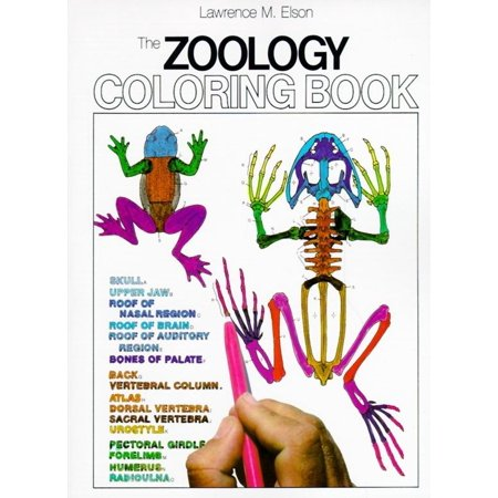 Coloring Concepts Zoology Coloring Book Paperback Walmart Com Anatomy Coloring Book Zoology Coloring Books