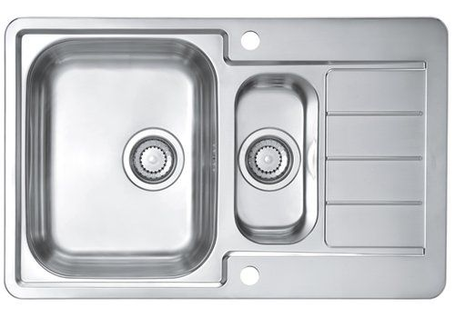 Belfry Kitchen Caden 79 Cm X 50 Cm Kitchen Sink Best Stainless